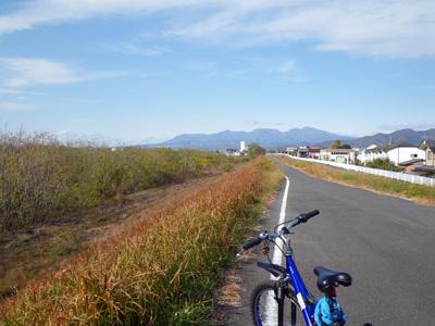 松原橋からの赤城山