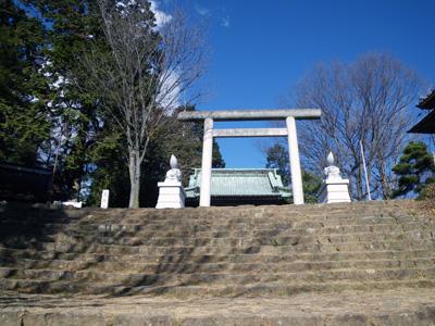 新田神社の鳥居