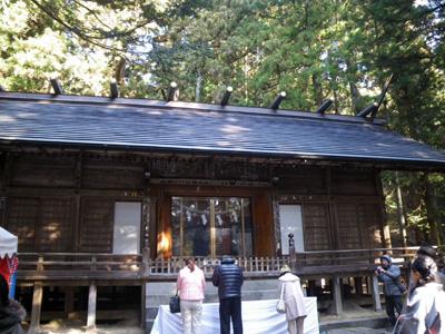 赤城神社に初詣