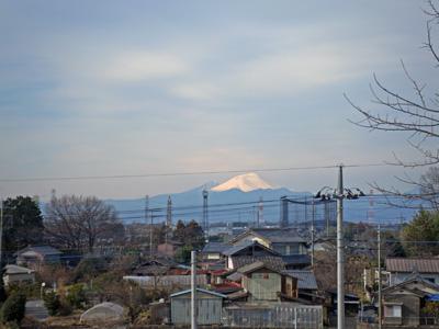 浅間山よく見えた