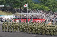 2013年 富士駐屯地祭 式典風景