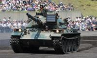 英国ビッカーズ社が開発した105mm 砲はNATO標準。