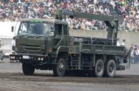 MLRS ロケットランチャー運搬車両