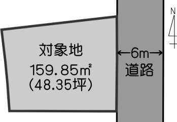 京町本丁売り土地