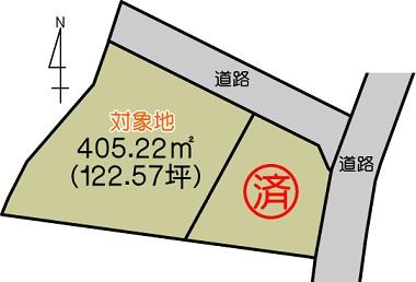 熊本市中央区壺川2丁目 土地