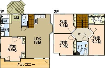 菊陽町武蔵ヶ丘北2丁目新築モデルハウス