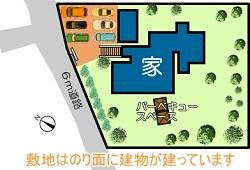 阿蘇市乙姫配置図