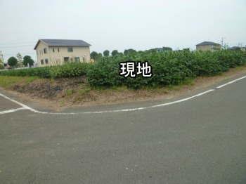 菊陽町区画整理地内土地