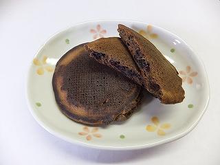 発芽玄米コーヒー入りホットケーキ