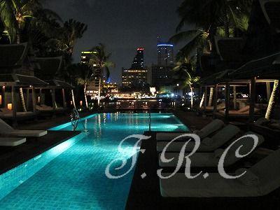ティプタラ(THIPTARA)レストラン♪♪ ペニンシュラ バンコク ホテル (Peninsula Bangkok Hotel) 旅行記