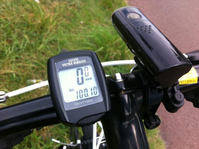 祝100Km超_数馬の湯サイクリング