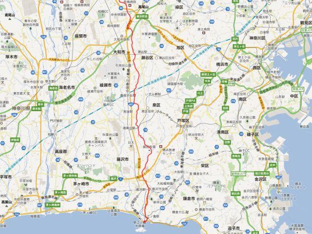 境川CR~江の島サイクリング