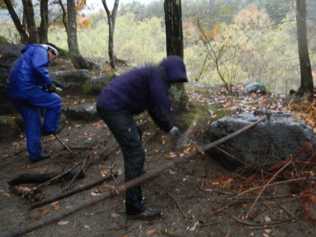 三景園 冬季キャンプ 其の一