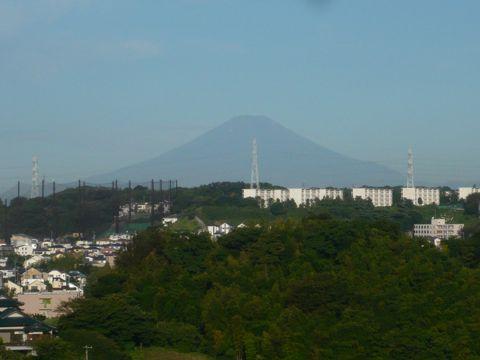 P1150505夏の富士