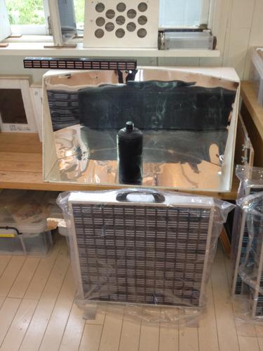 除湿器とソーラー