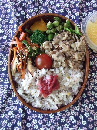 牛肉生姜煮弁当