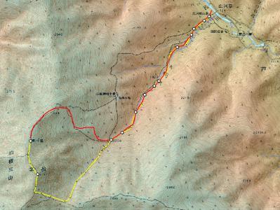2012.7.20-22 北岳登山ルートjpeg