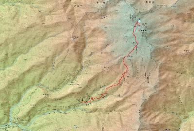 2012.8.26-27 白山登山ルート (800x539)