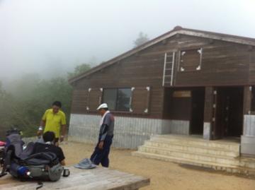 甚の助の新しい避難小屋にて