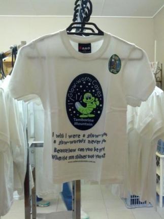グローワームTシャツ