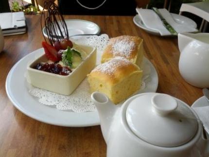 喫茶店のお茶セット
