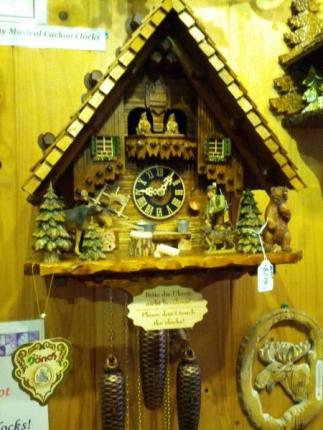 凝ったからくり時計2