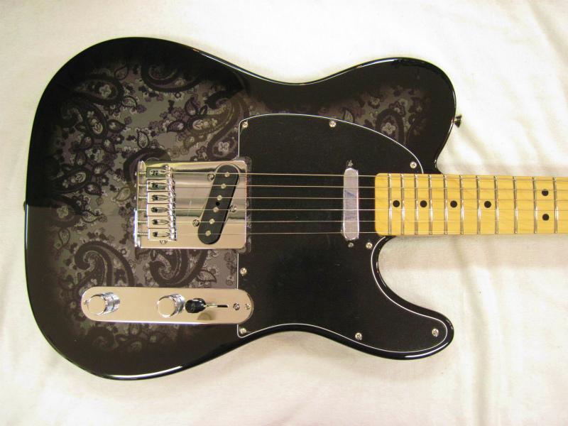 Fender Mexico 2012 FSR Black Paisley Telecaster