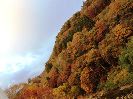 これは先月行った秋保の写真です