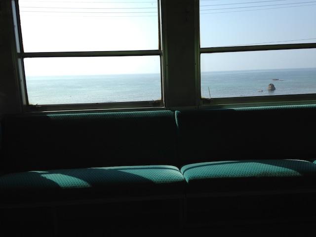 世界の車窓から。
