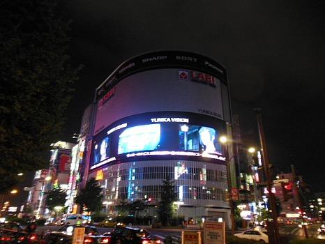 定点写真西武新宿駅の前ヤマダ電機
