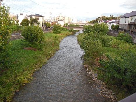 空堀川増水
