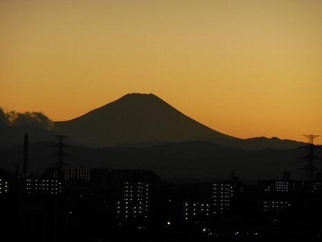 オッ富士見えた6