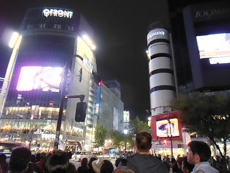 渋谷駅界隈の夜
