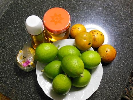 果実・はちみつ・椿油