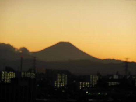 オッ富士見えた4