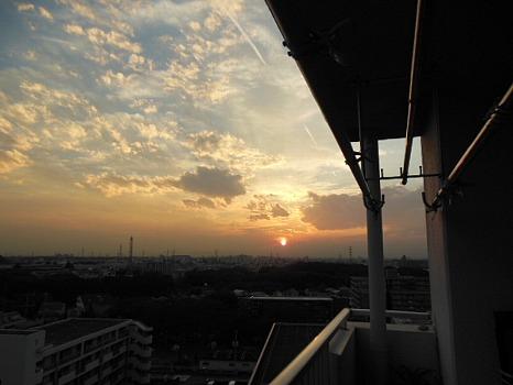 夕陽10月30日A
