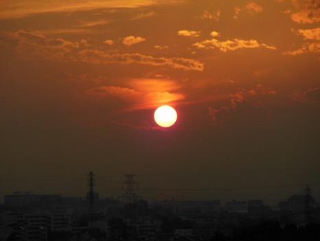 夕陽10月30日D