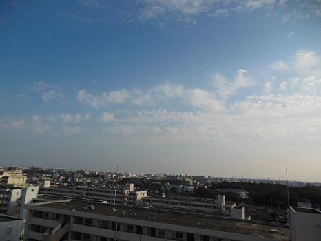 11月初めの空