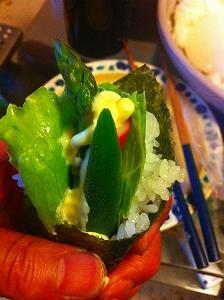 手巻き寿司4