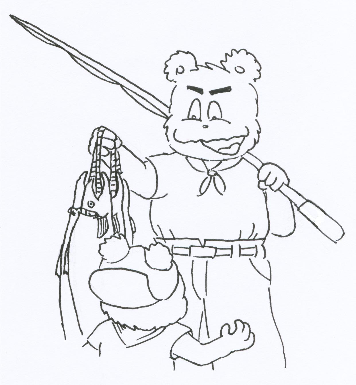 サケさんごめんね(第5話-1)こぐまのハウアス 2007.10.12