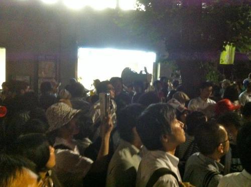 2012-6-29+19-48-04+茱萸坂(ぐみざか)封鎖!国会議事堂前駅3番出口+_convert_20120630181126