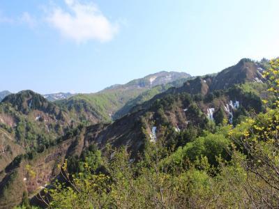 目指岳登山道