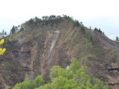 目指岳山頂