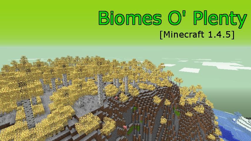 Biomes O Plenty-1