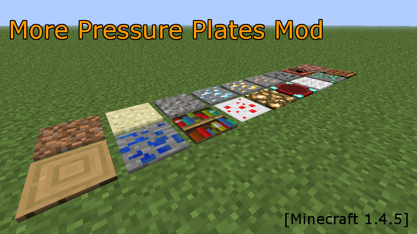 more pressure plates mod-1