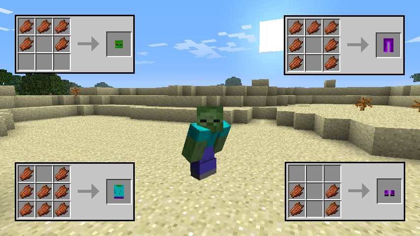 Zombie Disguise Armor Mod-2