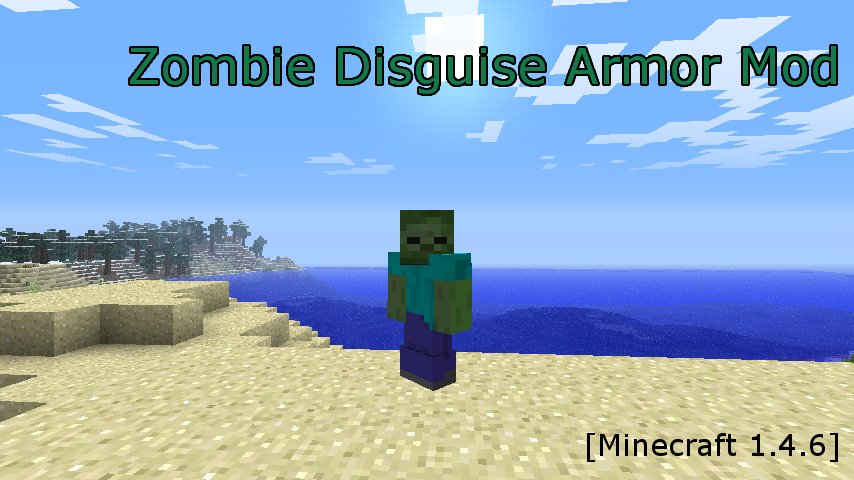 Zombie Disguise Armor Mod-1