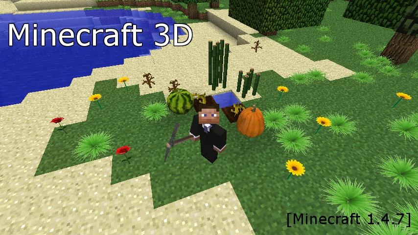 Minecraft 3D-1