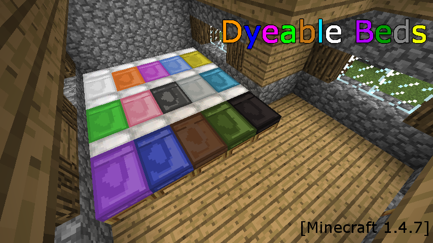 Dyeable Beds-1