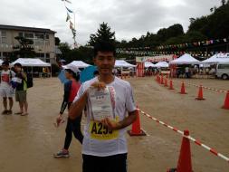 初マラソンが ぶどうマラソン なんとか完走
